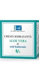 Q4U Crema hidratanta cu Aloe Vera si Acid Hialuronic - Tis Farmaceutic