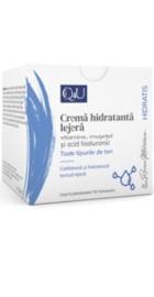 Q4U Crema hidratanta cu Vitamine, Musetel si Acid Hialuronic - Tis Farmaceutic