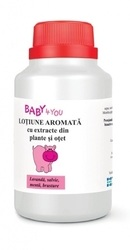 Baby4You Lotiune aromata - Tis Farmaceutic
