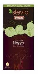 Ciocolata neagra cu Stevia - Torras
