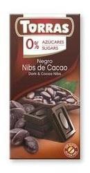 Ciocolata neagra cu bucatele de cacao  - Torras
