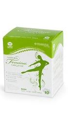 Natura Femina Organic Absorbante de noapte biodegradabile din bumbac organic  - Tosama