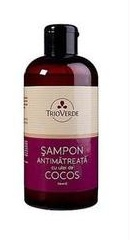 Sampon antimatreata cu ulei de cocos - Trioverde