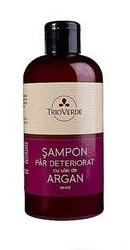 Sampon pentru par deteriorat cu ulei de argan - Trioverde