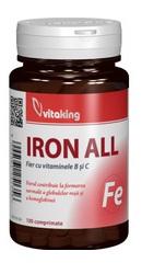 Fier cu vitamina B si C - Vitaking