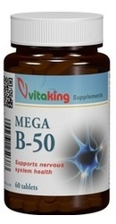 Mega Vitamina B50 - Vitaking