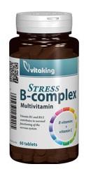 Stress B Complex cu vitamina C - Vitaking
