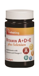 Vitaminele A D E plus Seleniu - Vitaking