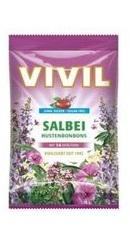 Bomboane Salvie cu vitamina C - Vivil