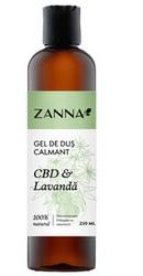 Zanna Gel de dus calmant cu CBD si Lavanda - Smart Nutraceutical