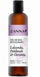 Zanna Gel de dus revigorant cu Lavanda si Geraniu - Smart Nutraceutical