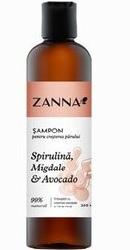 Zanna Sampon cresterea parului cu Spirulina, Migdale si Avocado - Smart Nutraceutical