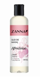 Zanna Ulei de masaj afrodisiac cu Ylang-Ylang si Santal - Smart Nutraceutical