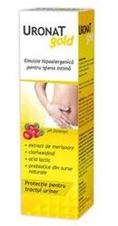 Uronat Gold Emulsie hipoalergica pentru igiena intima - Zdrovit