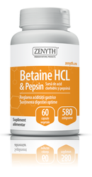 Betaine HCL si Pepsin - Zenyth