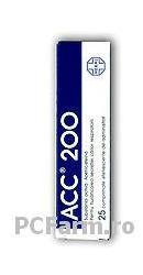 ACC 200, comprimate efervescente