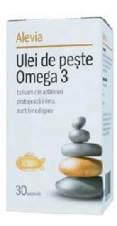Ulei de peste Omega 3 – Alevia