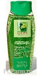 Gel de dus cu granule exfoliante si extract de lavanda - Apimond