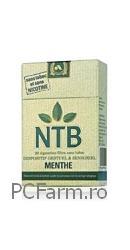NTB Tigarete fara Nicotina cu Mentol - Arkopharma