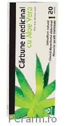 Carbocit cu Aloe Vera - Biofarm