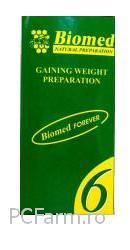Biomed 6  - Preparat natural pentru ingrasat