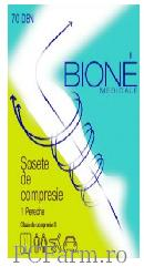 Sosete de compresie clasa II 15-20 mm Hg  - Bione