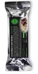 Baton ecologic cu seminte de canepa  si ciocolata - Canah
