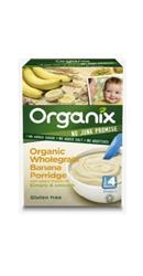 Cereale integrale bio Fulgi orez cu banane si porumb  - Organix