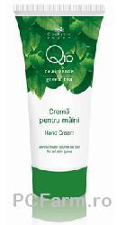 Crema anti-imbatranire pentru maini Q10 si ceai verde - Cosmeticplant