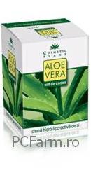 Crema de zi hidro-lipo-activa cu Aloe Vera si unt de cacao - Cosmeticplant