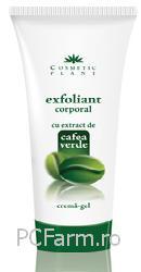 Exfoliant corporal cu extract de cafea verde - Cosmeticplant