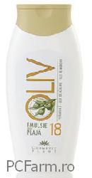 Emulsie pentru plaja Oliv cu ulei de morcov - SPF 18 - Cosmeticplant