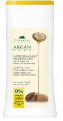 Lapte demachiant reconfortant cu ulei de argan bio si extract bio de aloe vera - Cosmeticplant