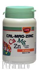Calciu  Magneziu Zinc - Cosmopharm