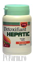 Detoxifiant Hepatic Forte - Cosmopharm