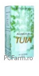 Alcolatura de thuia - Dacia Plant