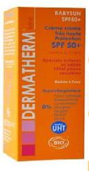 Crema protectie solara pentru bebe si copii SPF 50 + - Dermatherm