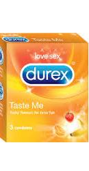 Prezervative Durex Taste Me