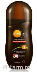 Lotiune spray pentru bronzare accelerata SPF 6 - Elmiplant