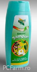 Sampon Sebored cu extract de plante pentru par gras Plant Activ - Etera