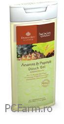 Gel de dus cu Ananas si Papaya - Fette Pharma