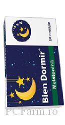 Bien dormir cu  Melatonina  - Fiterman