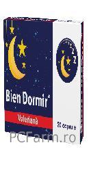 Bien dormir cu  Valeriana- Fiterman