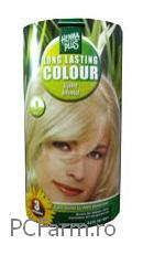 Vopsea naturala permanenta pentru par blond - HennaPlus