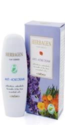 Crema Antiacnee cu Alantoina, Ulei de Galbenele, Lavanda - Herbagen