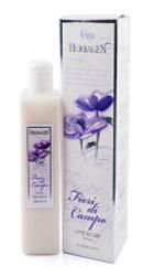 Lapte de corp parfumat cu ulei de masline - Fiori di Campo - Herbagen