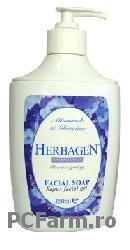 Sapun facial cu extract de albastrele - Herbagen