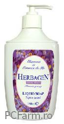 Sapun lichid cu glicerina si extract de tei - Herbagen