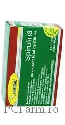 Spirulina cu extract total de Catina - Hofigal