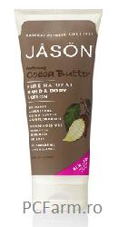 Crema hidratanta cu unt de cacao pt maini si corp - Jason